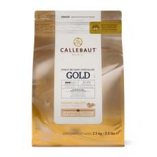 Callebaut Gold Callets Belgische Chocolade - 2.5Kg