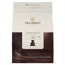 Callebaut fonteinchocolade puur - 2,5 kilo