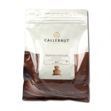 Callebaut fonteinchocolade melk - 2,5 kilo