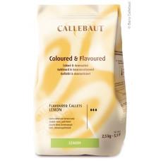 Callebaut Callets Lemon - 2,5 kilo