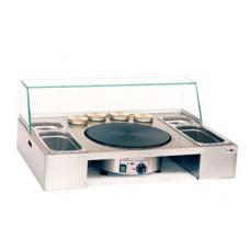 Sephra Verwijderbare Top voor Crêpe Machine