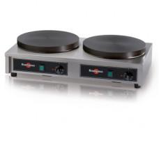 Krampouz CECIG3 Dubbele Elektrische Crêpe Machine 350mm - Luxe Editie