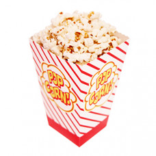 Popcorn boxen open - 500 x 1oz