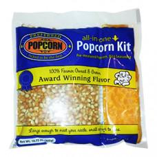 Popcorn Pit en Olie Verpakking 8oz - 225g