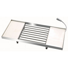 Vibratietafel - verwarmd - opzetmodel 12kg tempereermachine