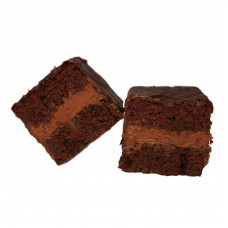 Mudcake dark - brownie cake - Pure ganache