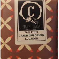 Chocoladereep - Grand Cru Origin Equador - Puur - 76%