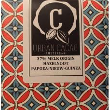 Chocoladereep - Grand Cru Origin Papoea Nieuw Guinea - Hazelnoot Melk - 37%