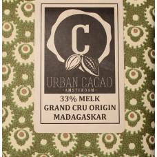 Chocoladereep - Grand Cru Origin Madagaskar - Melk - 33%