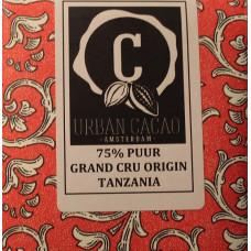 Chocoladereep - Grand Cru Origin Tanzania - Puur - 75%